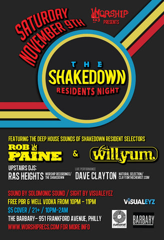 Shakedown : Residents Night