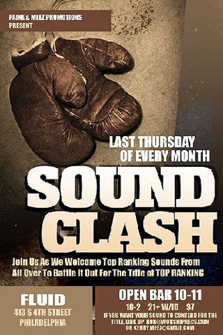 SOUND CLASH THURSDAYS