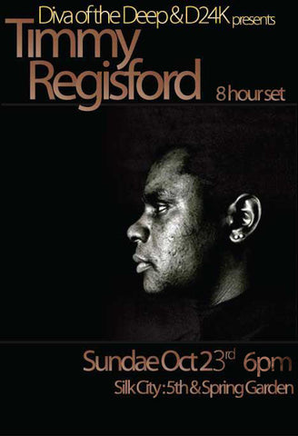 Timmy Regisford 8 hr set @ Silk City Sunday Oct 23rd