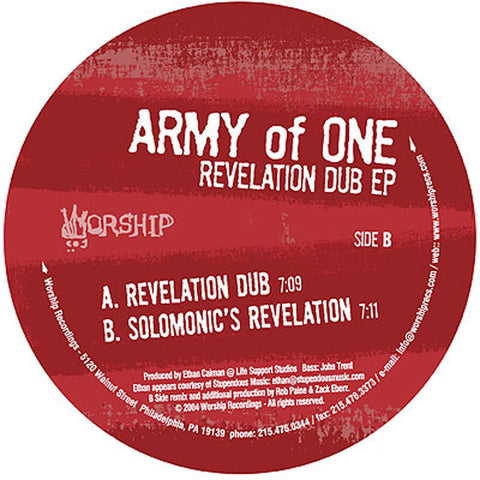 #WorshipWednesday: Revelation Dub EP (WOR.20)