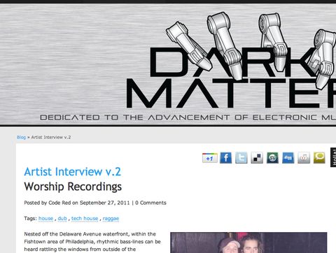 DarkMatterSquad Interview