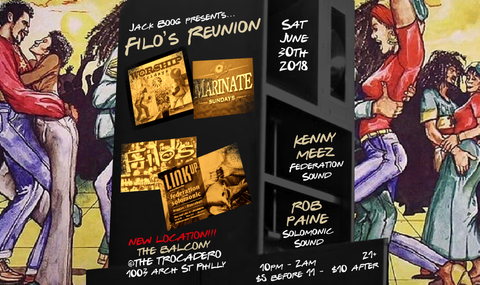 Filo's Reunion : Federation + Solomonic Sound Systems