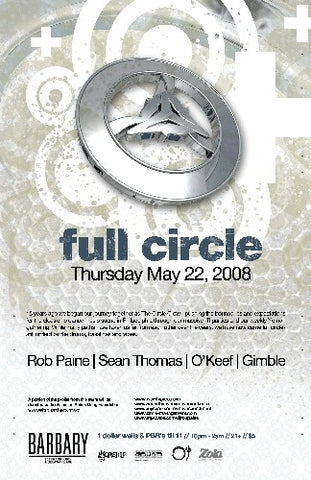Circle Reunion event FULL CIRCLE MAY 22nd