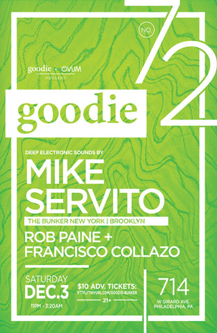 goodie no.72 : Mike Servito
