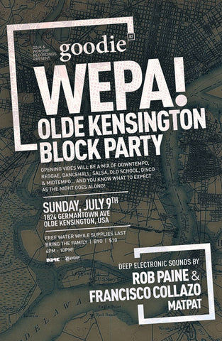 goodie no.82 : Wepa! Block Party