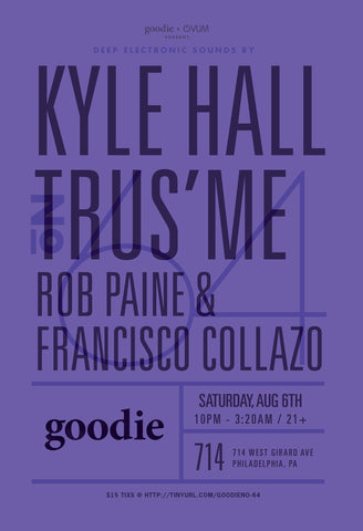 goodie no.64 : Kyle Hall & Trus'me