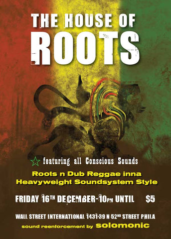 House Of Roots @ Wall Street