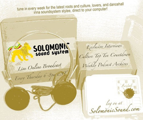 SOLOMONIC WEBCAST EVERY THURSDAY EVENING!