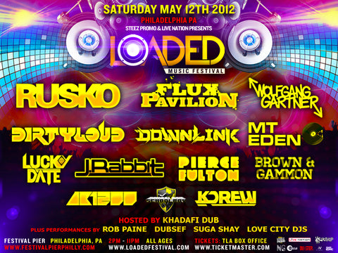 Loaded Music Festival @ Festival Pier