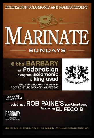 MARINATE SUNDAYS R BACK!!!