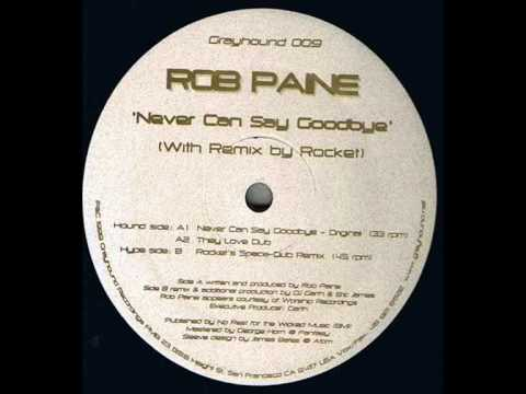 #DubMonday - Rob Paine - Never Can Say Goodbye (They Love Dub)