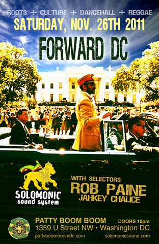 Forward DC - Solomonic's monthly residency @ Patty Boom Boom in DC