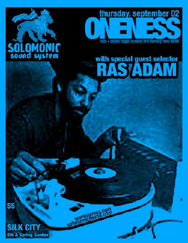 ONENESS ft RAS ADAM