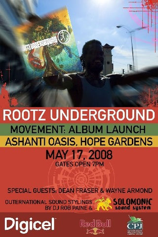 Rootz Underground : Movement Release