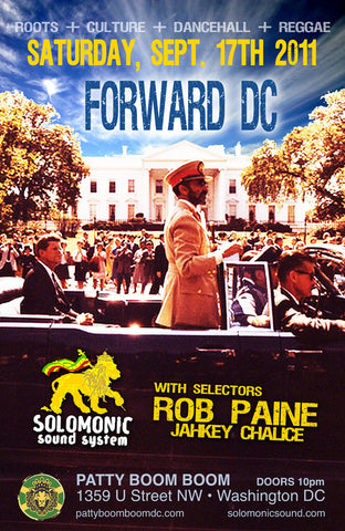 Forward DC! Solomonic Sound's Monthly residency in DC Saturday Sep. 17th