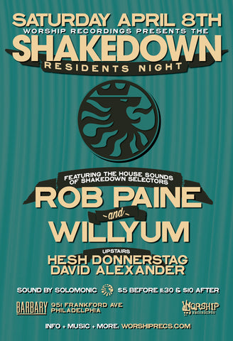 The Shakedown : Residents Night