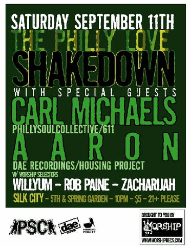 THE PHILLY LOVE SHAKEDOWN