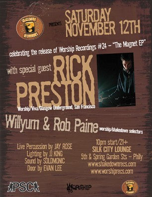 THE SHAKEDOWN with guest DJ RICK PRESTON
