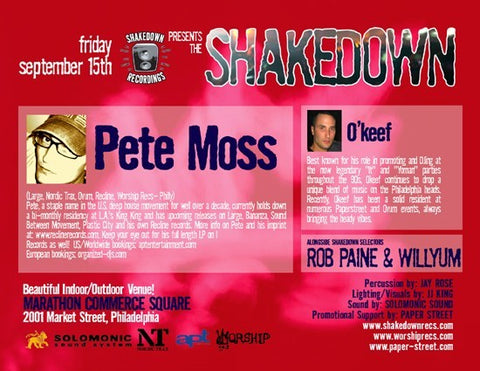 The Shakedown with Pete Moss and Okeef