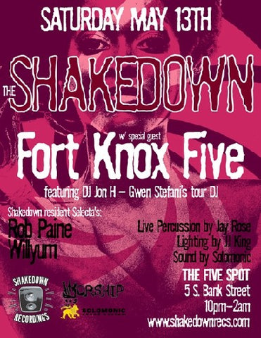 The Shakedown May with Fort Knox Five's Jon H