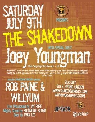SHAKEDOWN with JOEY YOUNGMAN