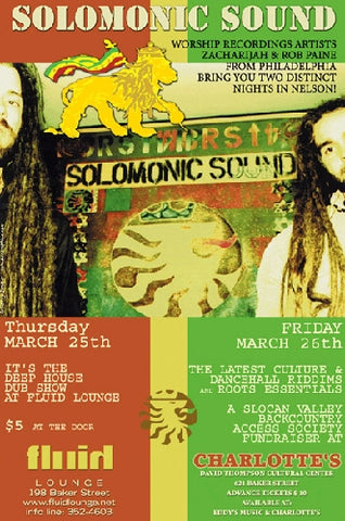 Solomonic Sound in Nelson BC