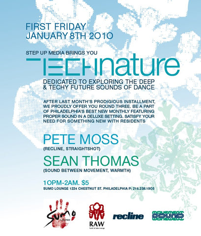 Technature @ Sumo Lounge Fri. Jan 8th