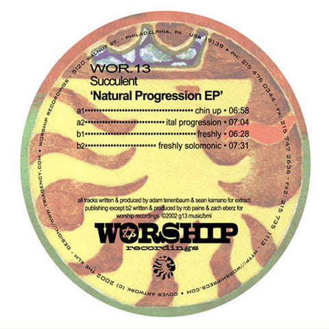 #WorshipWednesday- Succulent- Ital Progression (Original Mix)