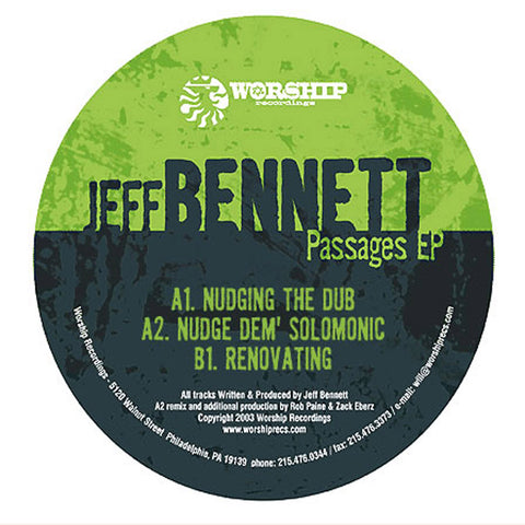 #WorshipWednesday- Jeff Bennett- Nudging the Dub (Original Mix)