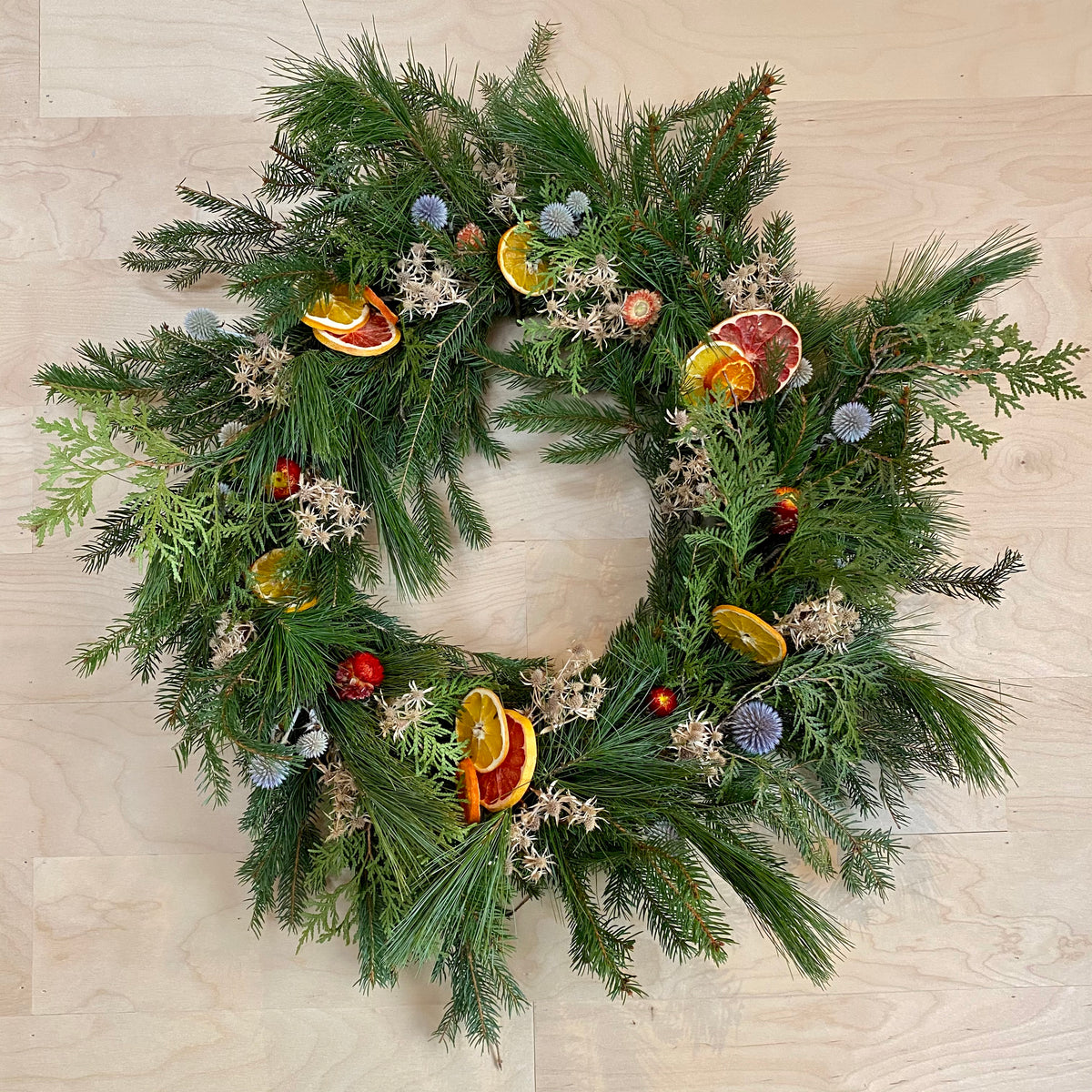 Evergreen Wreath 01