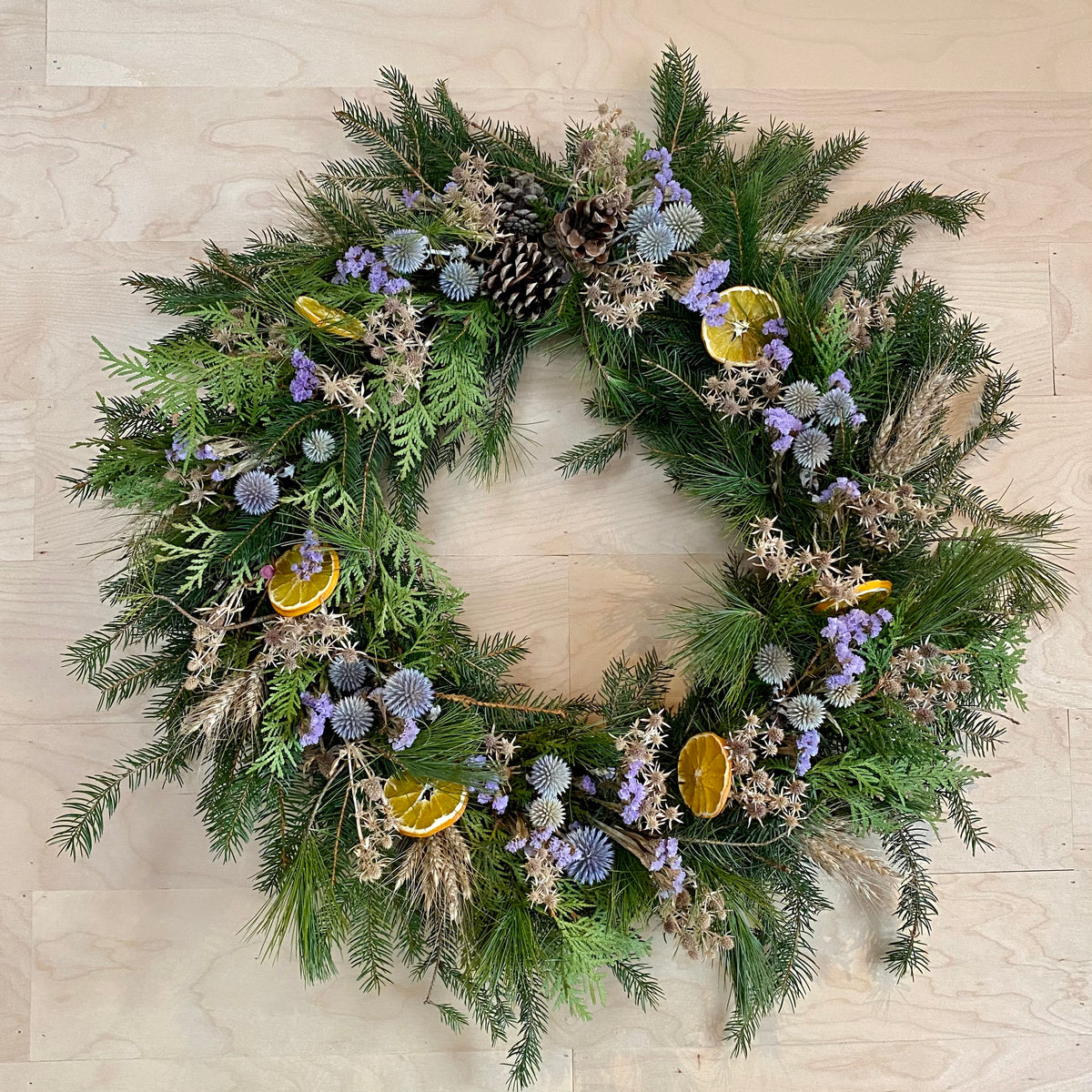 Evergreen Wreath 04