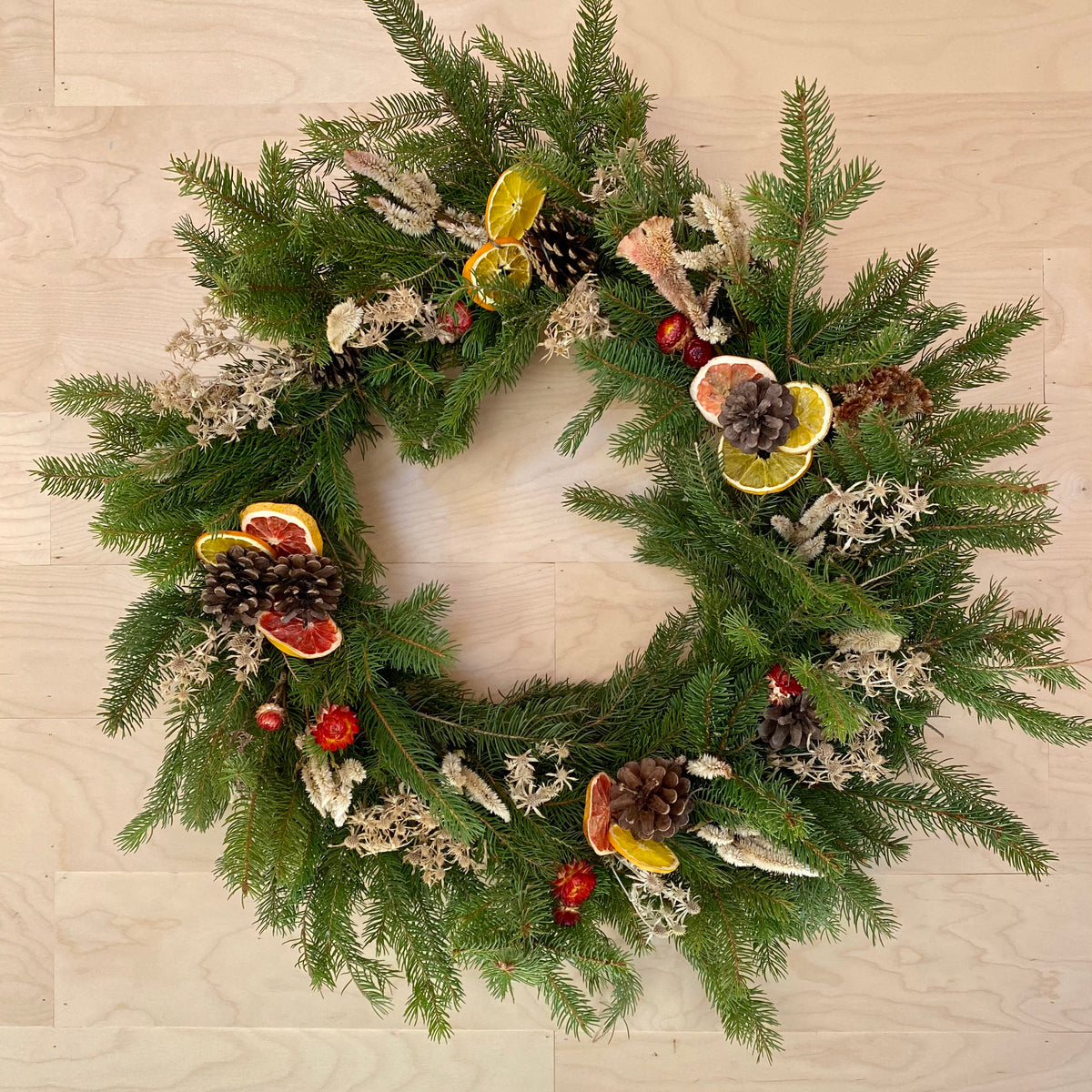 Evergreen Wreath 25