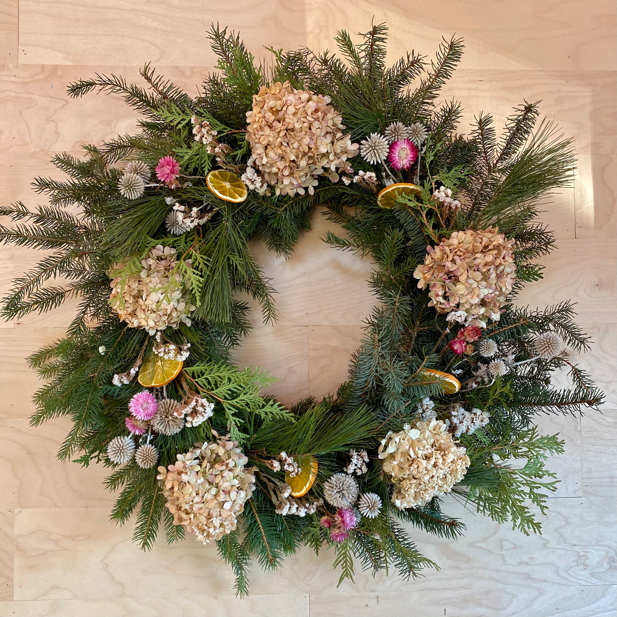 Evergreen Wreath 28