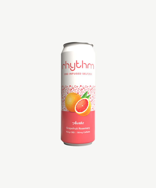 Awake - Grapefruit Rosemary Seltzer