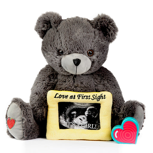 Gray Love Bear