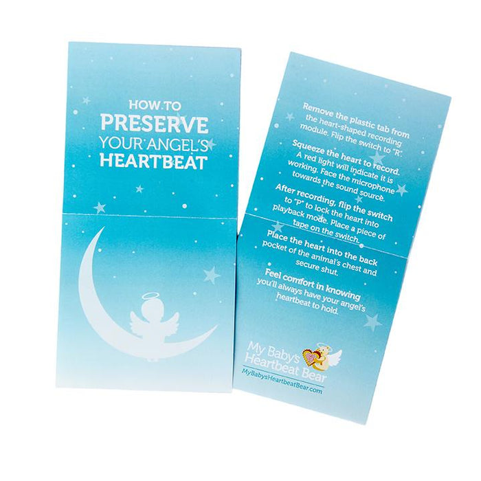 20 Bereavement Instruction Sheets