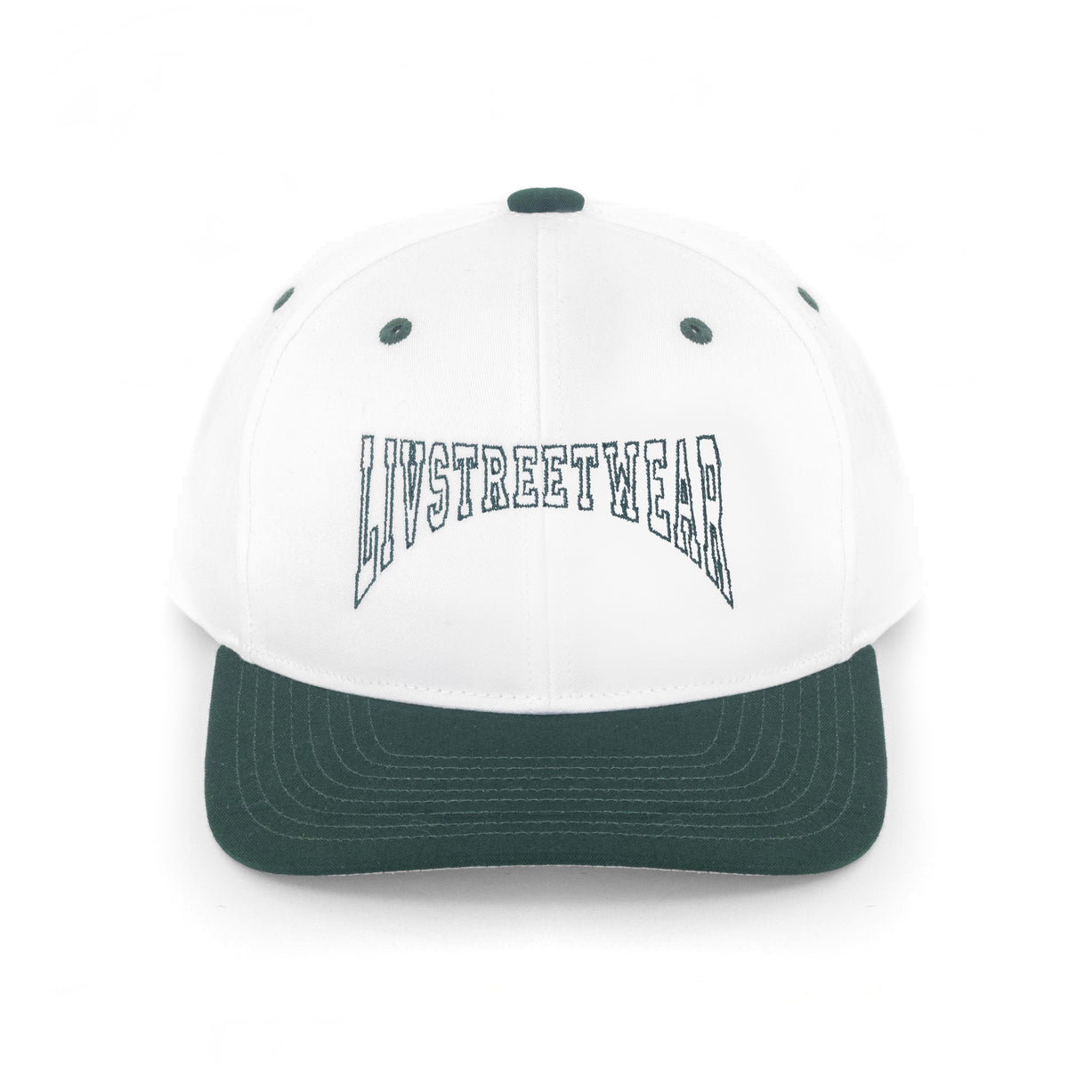 Green and White Snapback