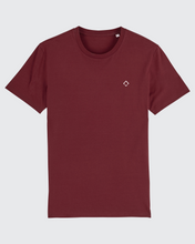 Load image into Gallery viewer, Waypoint Tee Burgundy