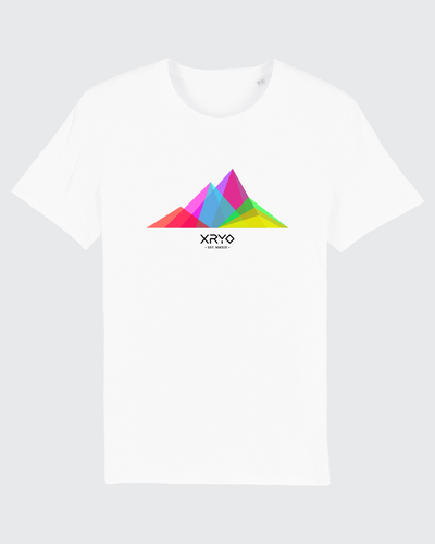 Mountains Tee White