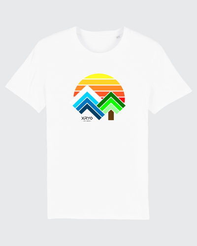 Sunset Tee White