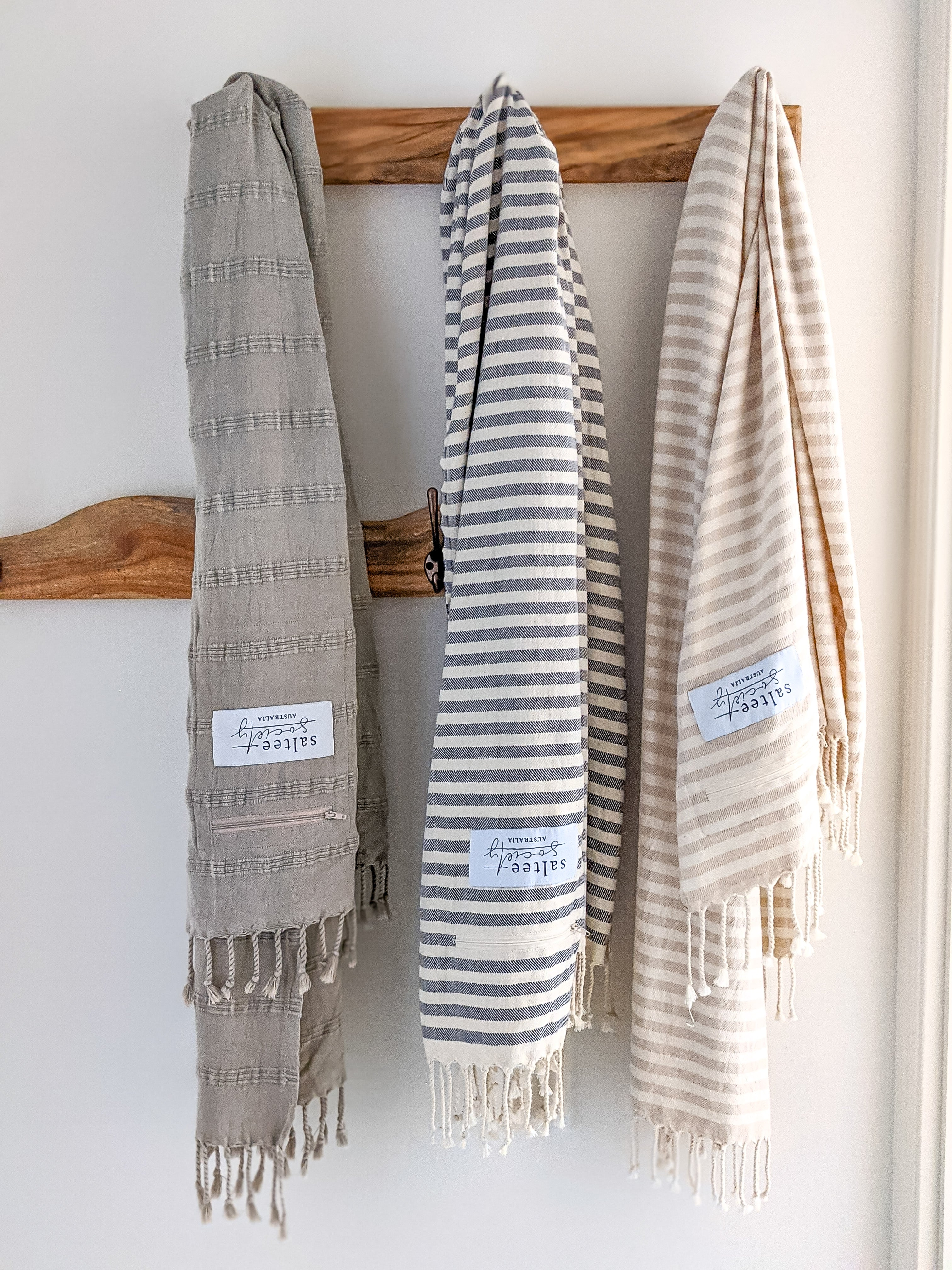 Sand Stripe- Turkish Towel