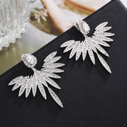 Zircon Angel Wings Earrings
