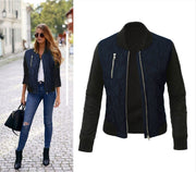 PRISCILLA Zipped Cotton Jacket