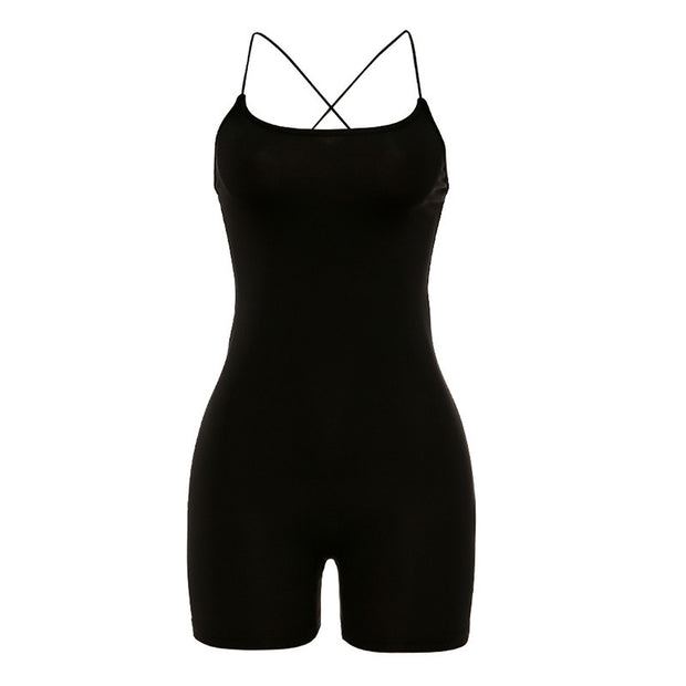 CHARMAINE Sexy Backless Bodysuit