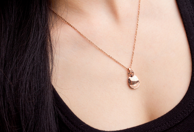 Lucky Little Chinchilla Necklace