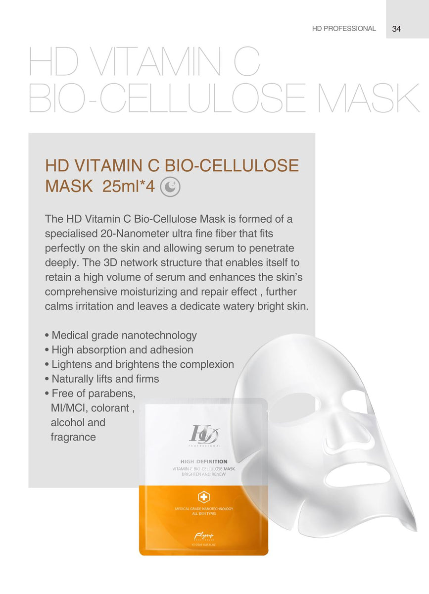 Image result for hd vit c bio cellulose mask