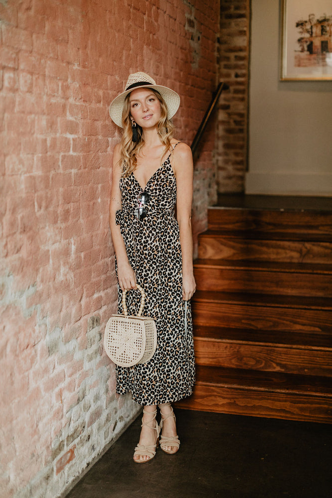 KATIE MEOW LONG SLIT DRESS