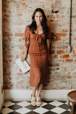 PRETTY JULIA POLKA DOT DRESS