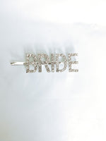 BRIDE ALERT HAIR PIN