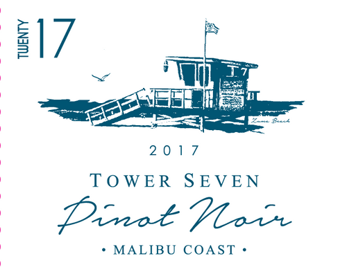 Tower Seven Pinot Noir 2017